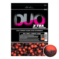 LK Baits DUO X-Tra Boilies Sea Food/Compot NHDC 18mm, 1kg