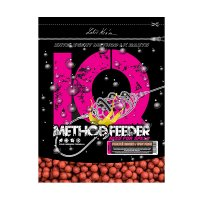 LK Baits IQ Method Feeder Boilies 10-12mm, 600g Pikantní broskev/Spicy Peach