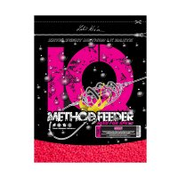 LK Baits IQ Method Feeder Speed Fluoro Pellets 600g Cherry
