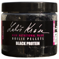 Lukas Krasa Boilies Pellet  Black Protein 12/17mm 200ml