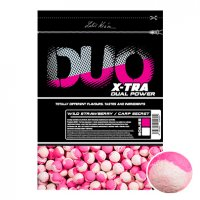 LK Baits DUO X-Tra Boilies Wild Strawberry/Carp Secret 24mm, 1kg