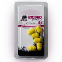 LK Baits ZIG RIG Dumbels Pop–Up – Yellow